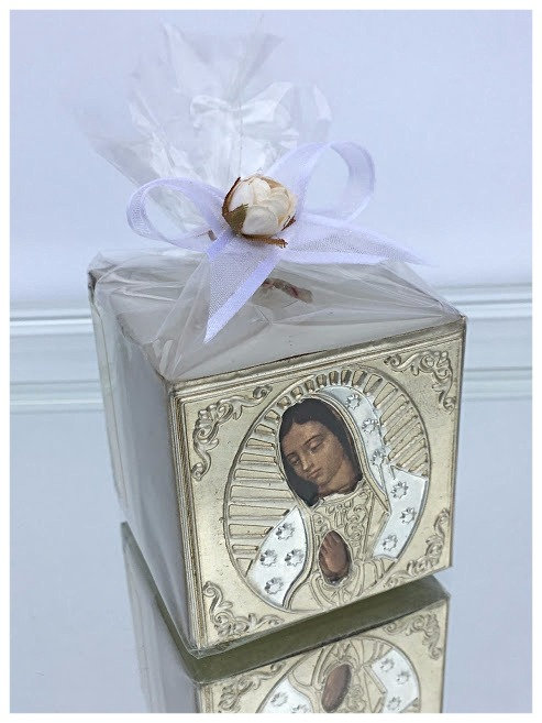 Guadalupe Cube Candles