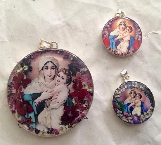 Medallion - Virgin of Schoenstatt