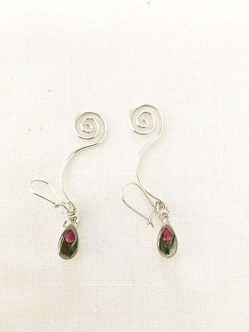Spiral Earrings 1