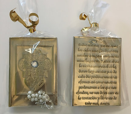 Pocket Prayer Book & Rosary Decade - Cross