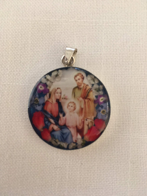 Small Pendant - Holy Family