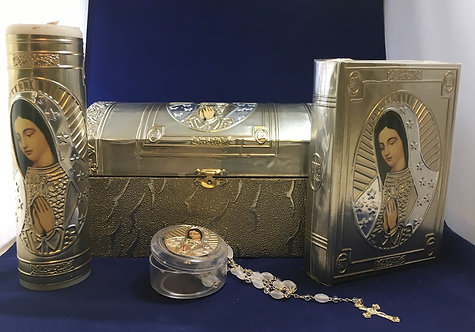 Guadalupe First Communion Box