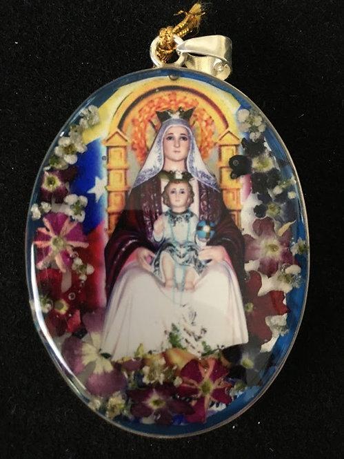 Medallion - Virgin of Coromoto