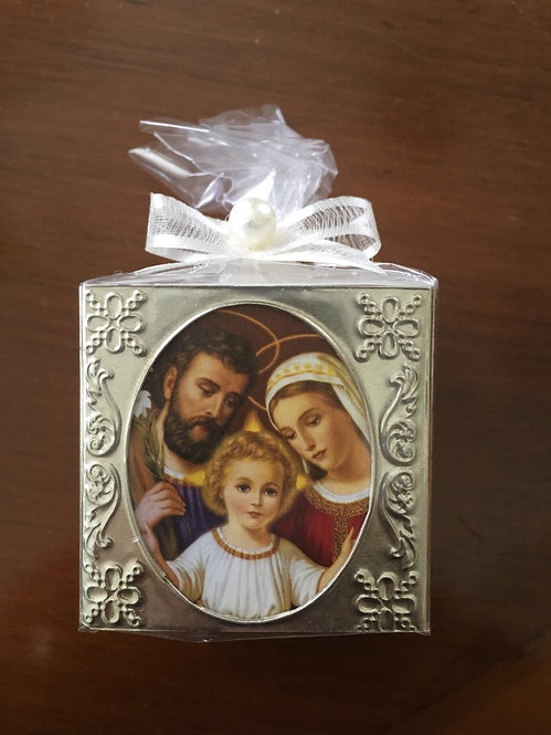 Holy Family Cube Candles