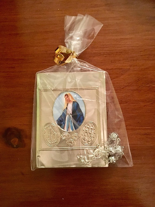 Pocket Prayer Book & Rosary Decade - Our Lady of Grace