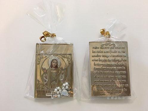 Pocket Prayer Book & One Decade Rosary - Sacred Heart of Jesus