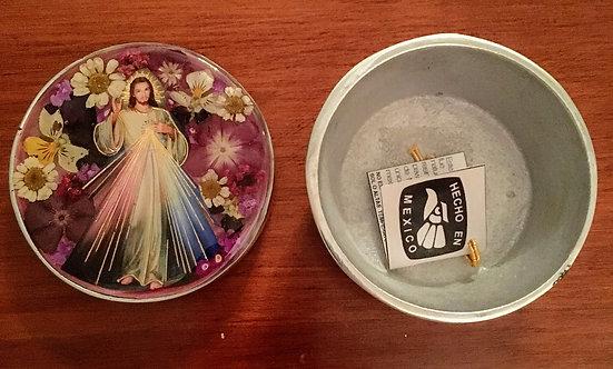 Pewter Box Divine Mercy