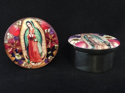 Our Lady of Guadalupe Mini Alpaca Box
