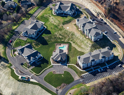 Aerial Photograph of The Villas