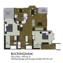 NEW Buckingham