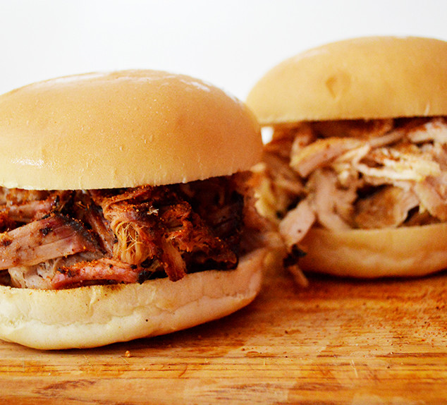 Pulled Pork and Pulled Chicken Sandwiches