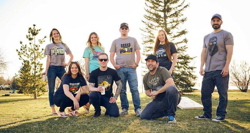 The Duck Company, Celebrate Adventure, T-Shirt, National Park, VW, Colorado, Employees