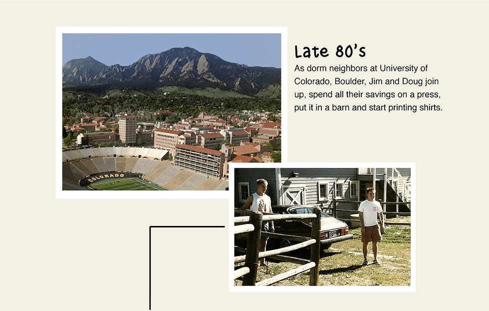 The Duck Company, Celebrate Adventure, T-Shirt, Boulder, Colorado, CU Boulder