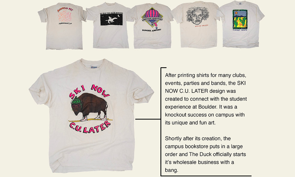 The Duck Company, Celebrate Adventure, T-Shirt, Apparel