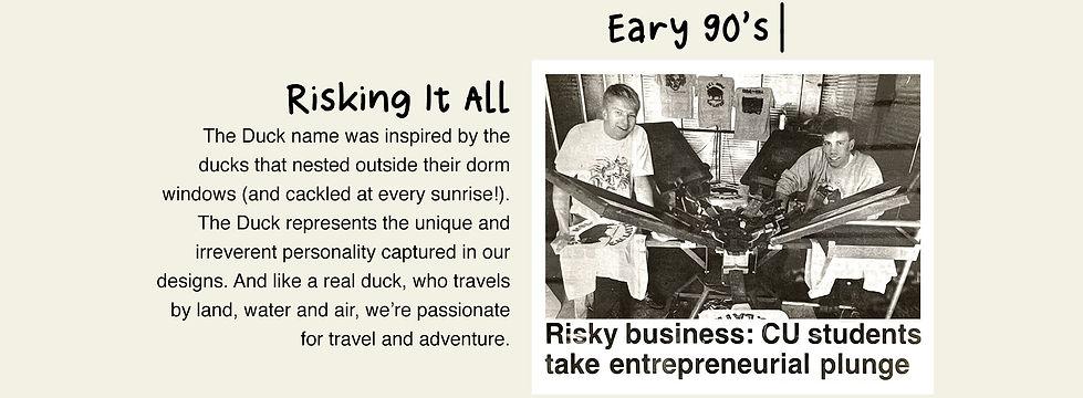 The Duck Company, Celebrate Adventure, T-Shirt, Duck History, CU Boulder