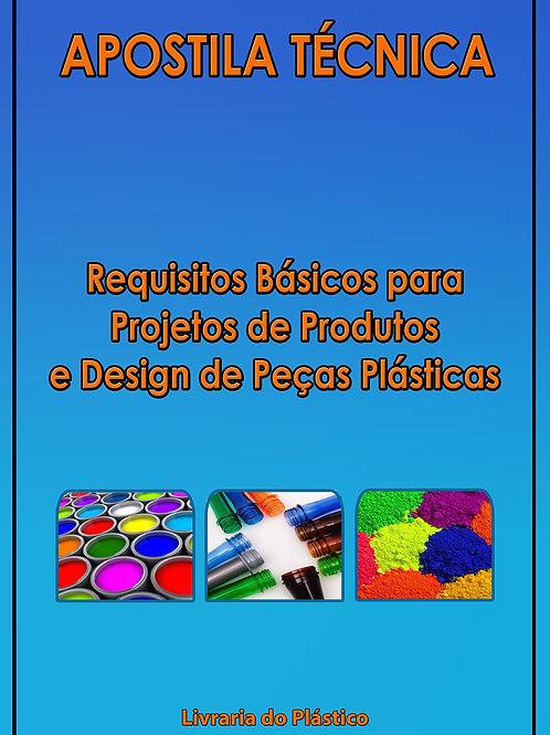 Projetos de Produtos e Design de Peças Plásticas