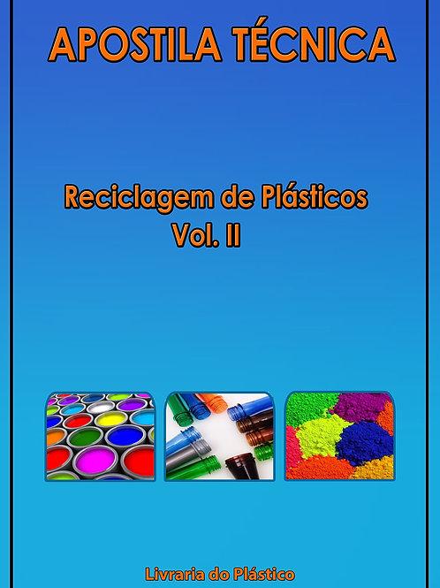 Reciclagem de Plásticos - Vol. II