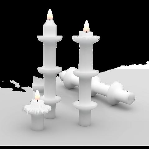 Candleholder-like Candle