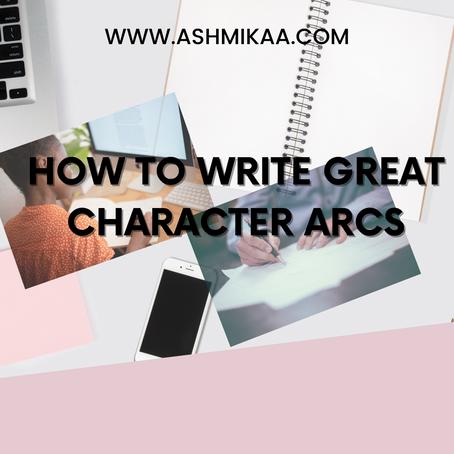 How to write character arcs