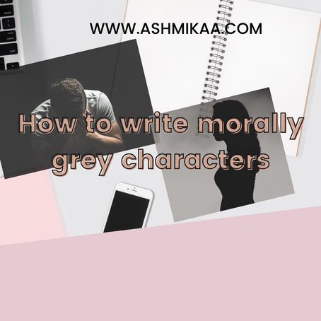 How to write morally grey characters