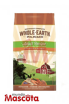 Whole Earth perro adulto Mundo Mascota Moreno