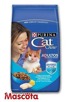 Cat Chow gato adulto cat pescado y mariscos Mundo Mascota Moreno