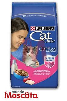 Cat Chow gatitos kitten leche carne pollo Mundo Mascota Moreno