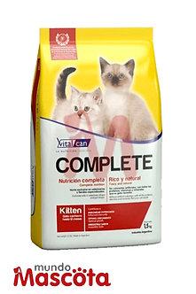 Vitalcan complete kitten gatito Mundo Mascota Moreno