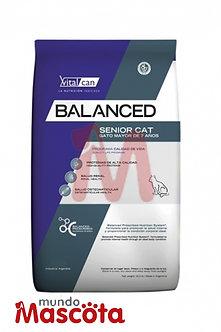 Vitalcan Balanced senior gato cat Mundo Mascota Moreno
