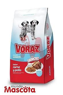 Voraz cachorro puppy Mundo Mascota Moreno