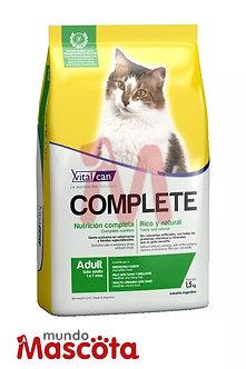 Vitalcan complete gato adulto cat Mundo Mascota Moreno