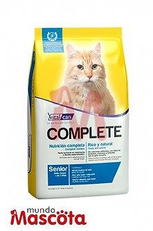 Vitalcan complete senior gato cat Mundo Mascota Moreno