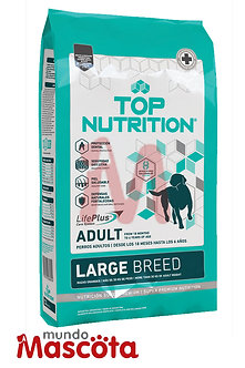 Top nutrition perro adulto large Mundo Mascota Moreno