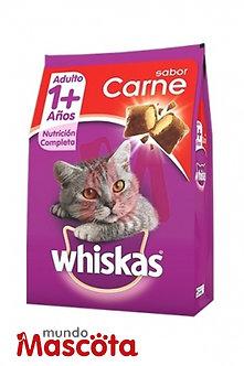 Whiskas cat gato adulto carne Mundo Mascota Moreno
