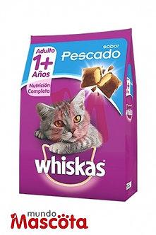 Whiskas cat gato adulto pescado Mundo Mascota Moreno