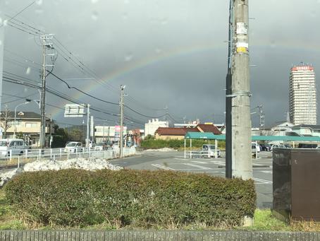 虹を見ると運気が上がる