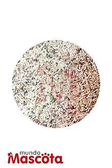 Mezcla para canario con vitaminas cereales alimento Mundo Mascota Moreno