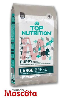 Top nutrition cachorro puppy large Mundo Mascota Moreno