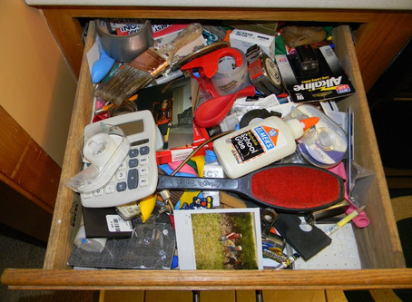 Important places you should organize in your home.