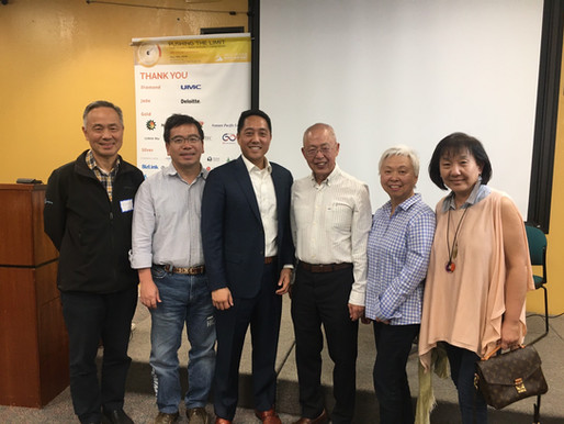 Tien's Forum - Fireside Chat with Dr. Jen-Chang Chou 10/20/2019