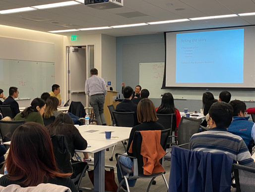 Storytelling workshop with Chris Yeh 2019-12-14