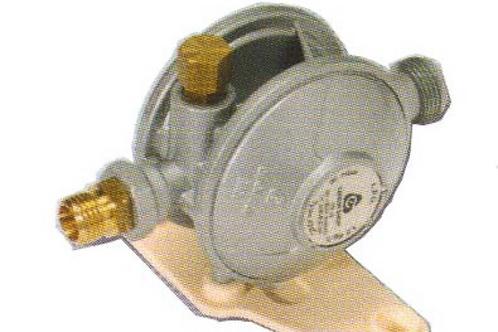 Redutor de gás 30 mb 1,5 kg/hora Saída 8 mm