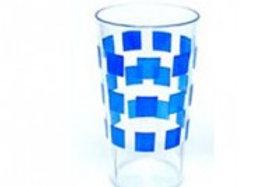 Copo azul em policarbonato 30cl