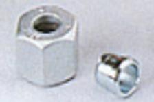 Porca para bicones de 8 mm