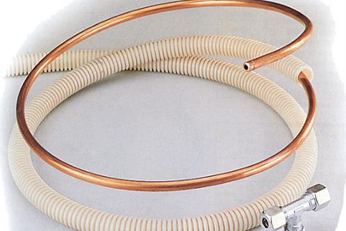 Tubo de cobre de 8 mm