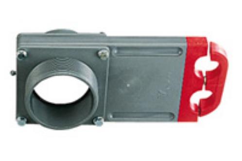 Válvula descarga cinza 75 mm