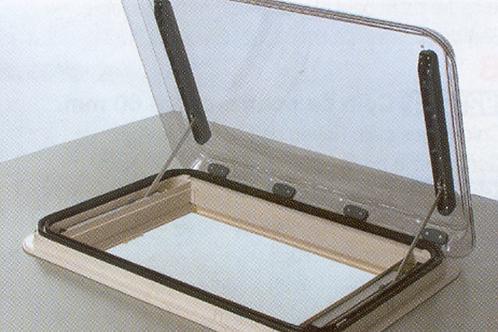 Clarabóia Seitz Heki IV em vidro acrílico duplo
