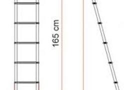 Escada Deluxe 5B Fiamma 5 degraus