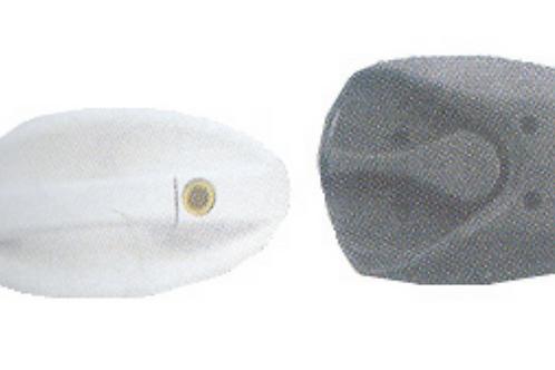 Fechadura oval para porta de autocaravana tipo CI