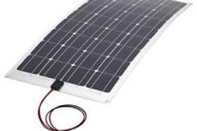 Painel Solar Flexível Monocristalino 100W